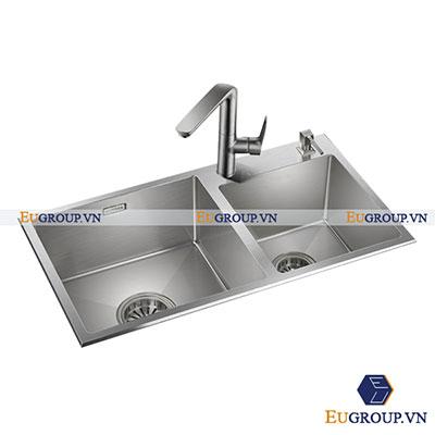 Chậu rửa bát EU-8245I (Inox xước 304)