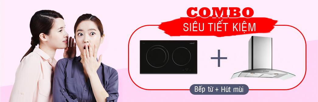 Chương trình khuyến mại combox bếp + hút