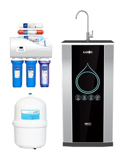 Máy lọc nước Karofi  IRO 2.0 7 cấp lọc K7I tủ IQ