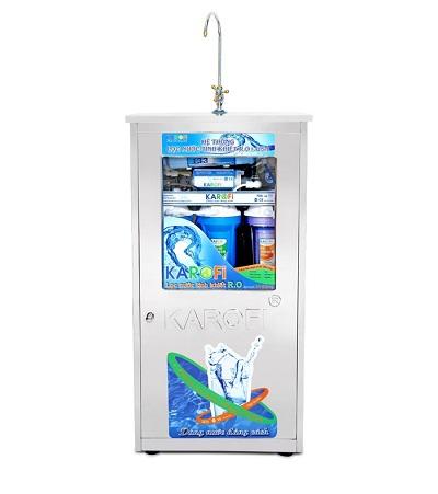 Máy lọc nước karofi tiêu chuẩn 6 cấp lọc KT6 kèm tủ