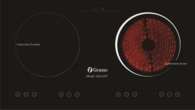 Bếp 1 từ 1 hồng ngoại GS3-207