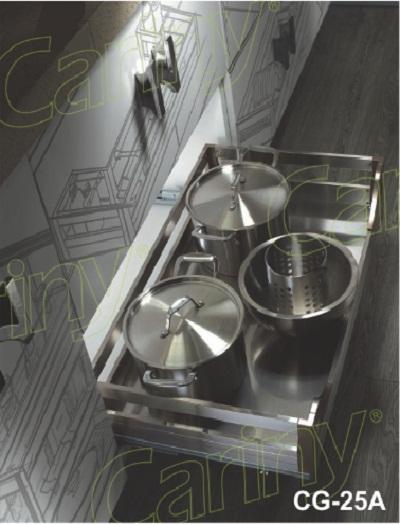 Kệ đựng xoong nồi inox hộp Cariny CG-25A/600