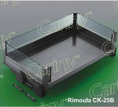 Giá xoong nồi inox hộp vách kính Cariny CK-25/600B