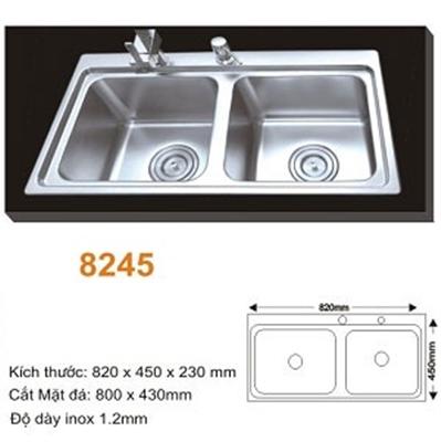 Chậu Rửa Bát Topy TP - 8245