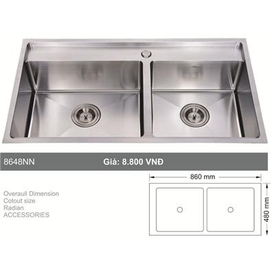 Chậu Rửa Bát Hàn Quốc Topy - 8648-NN