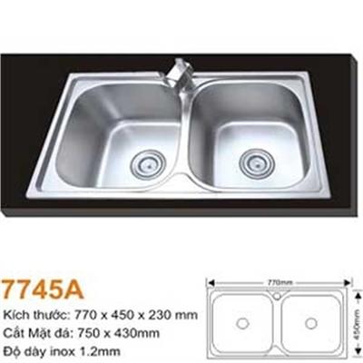 Chậu Rửa Bát Hàn Quốc Topy TP - 7745A