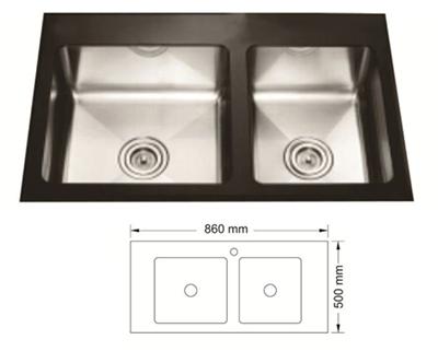 Chậu Rửa Bát Hàn Quốc Topy TP  - 8650HK