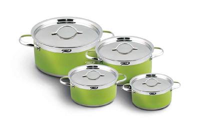Bộ nồi từ 4 chiếc inox Chefs EH-CW4304