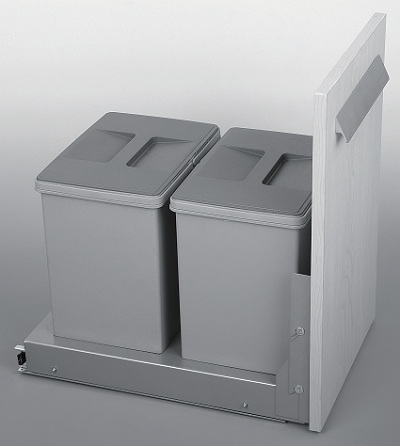Thùng rác đôi Garis BR03