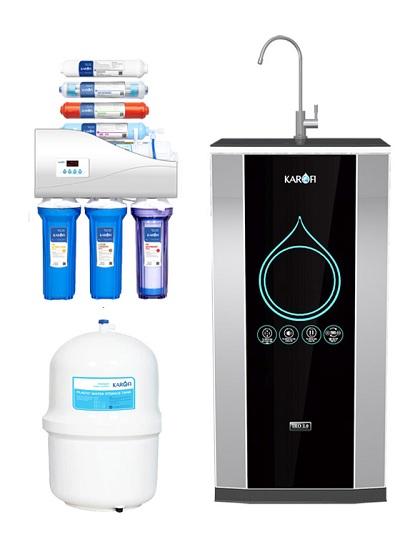 Máy lọc nước karofi IRO 2.0 8 cấp lọc K8I tủ IQ