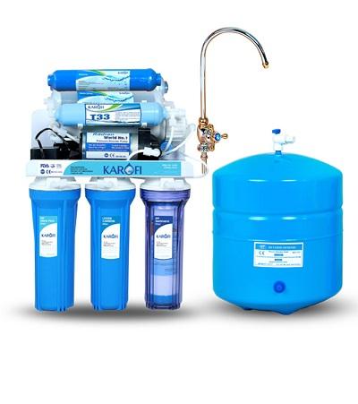 Máy lọc nước karofi  tiêu chuẩn 8 cấp lọc KT8