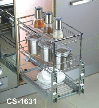 Kệ gia vị inox sợi Cariny CS-1631