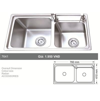 Chậu Rửa Bát Hàn Quốc Topy TP - 7641