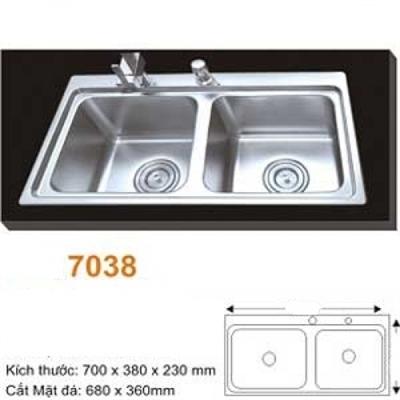 Chậu Rửa Bát Hàn Quốc Topy TP - 7038