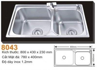 Chậu Rửa Bát Hàn Quốc Topy TP - 8043