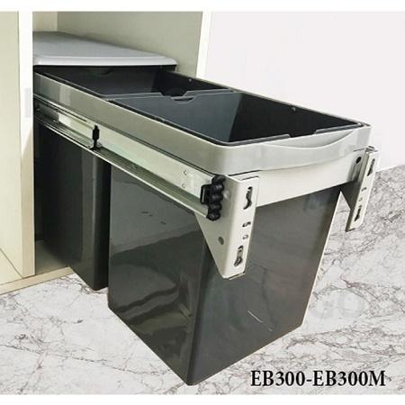 Thùng rác đôi Eurogold EB300