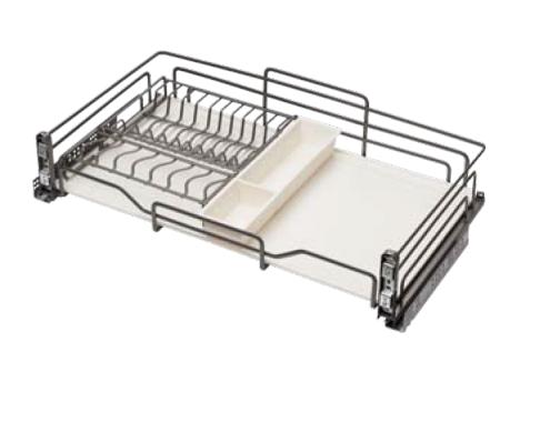 Giá bát đĩa tủ dưới Cariny CH26-600V