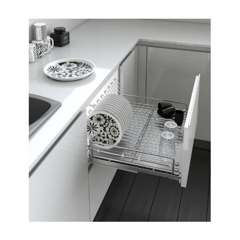Giá bát đĩa tủ dưới Cariny 5703E/600