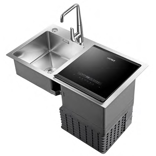Máy rửa bát kết hợp chậu Hafele HDW SD90A