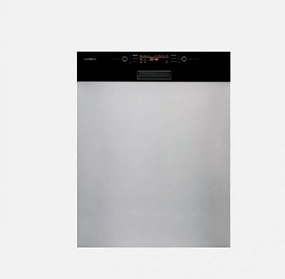 Máy Rửa Bát Bán Âm Mặt Kính Đen Hafele HDW HI60C