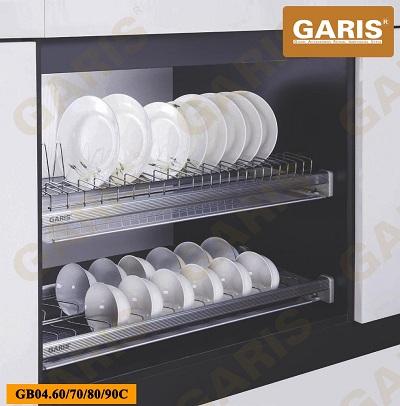 Giá bát đĩa cố định Garis GB04C