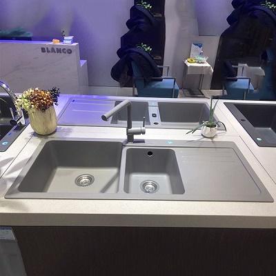 Chậu Rửa Bát Blanco Naya-8S Alu Metallic